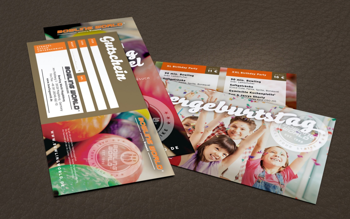 Bowling World Germany Flyer